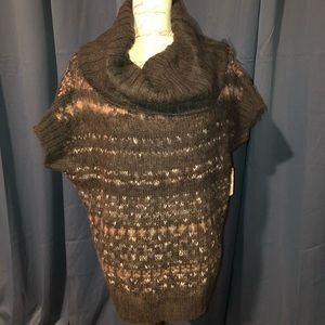 FREE PEOPLE MULTICOLORED SWEATER S NWT